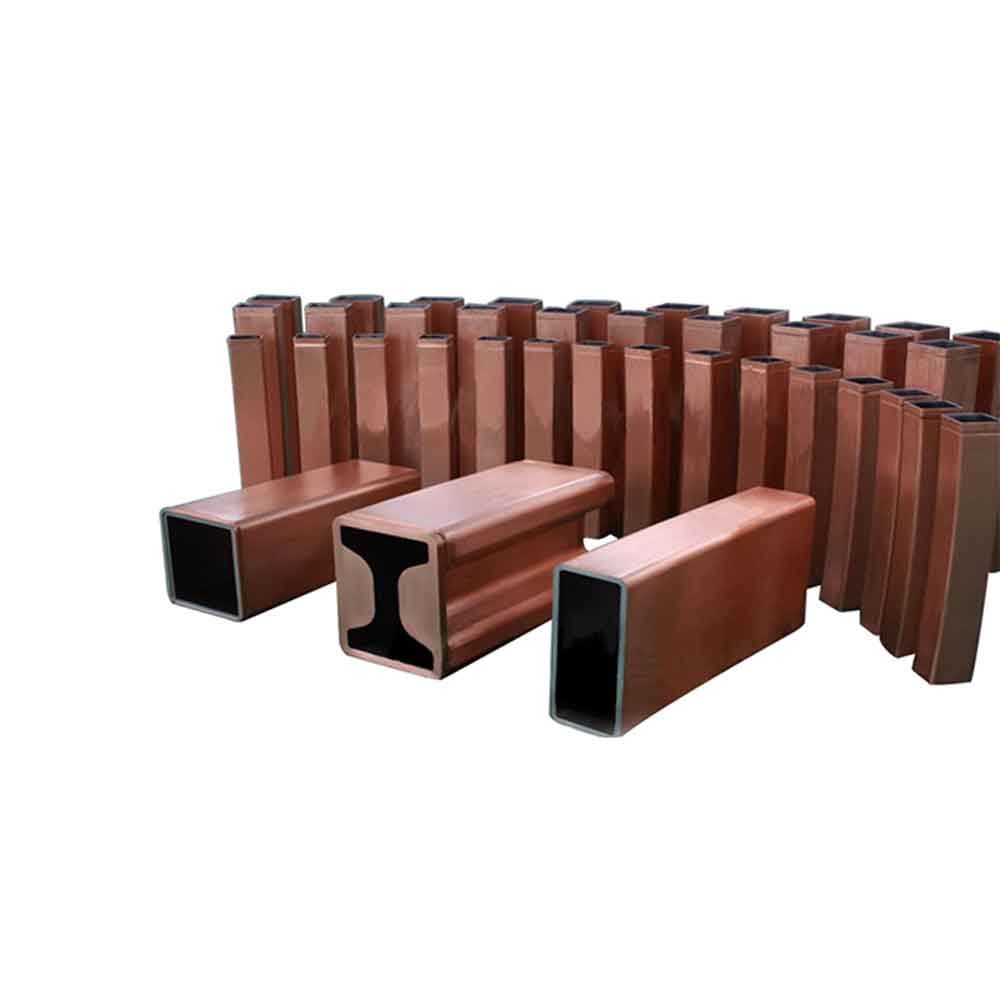 How is crystallizer copper tube treated